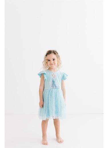 Frozen   Çocuk Elbise 15863 Mavi